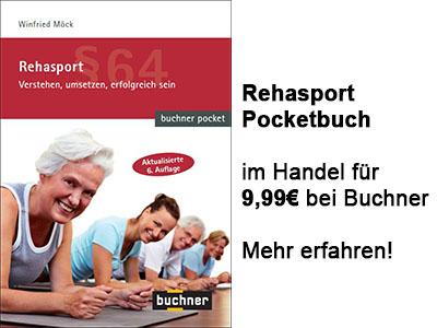 Beitragsbild Rehasport Pocketbuch 6 Auflage
