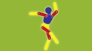 Rehasport 46535 Dinslaken-Eppinghoven NRW - Anbieter Krankenymnastik Kinderleicht - Logo