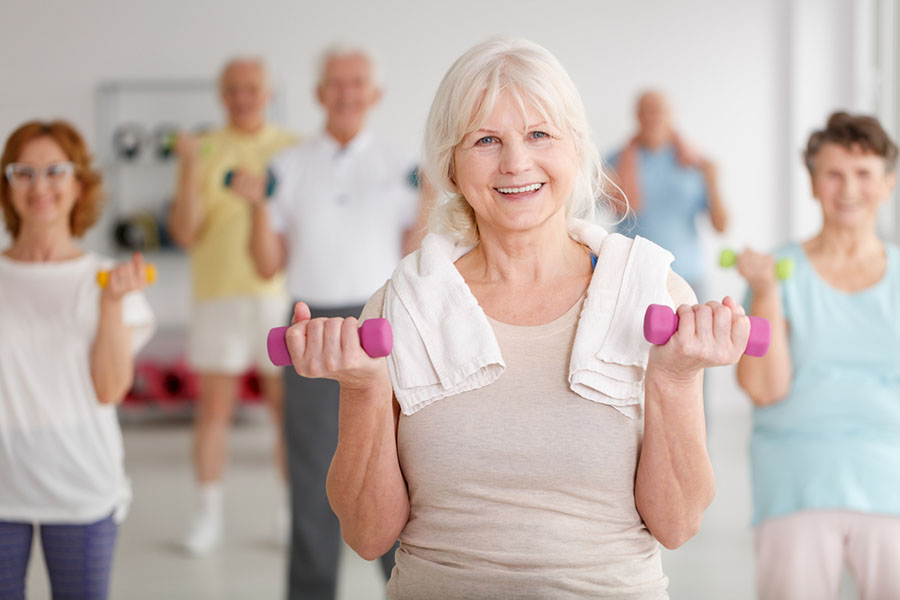Was ist Rehasport? Definition - hier Trainingsgruppe Rehabilitationssport