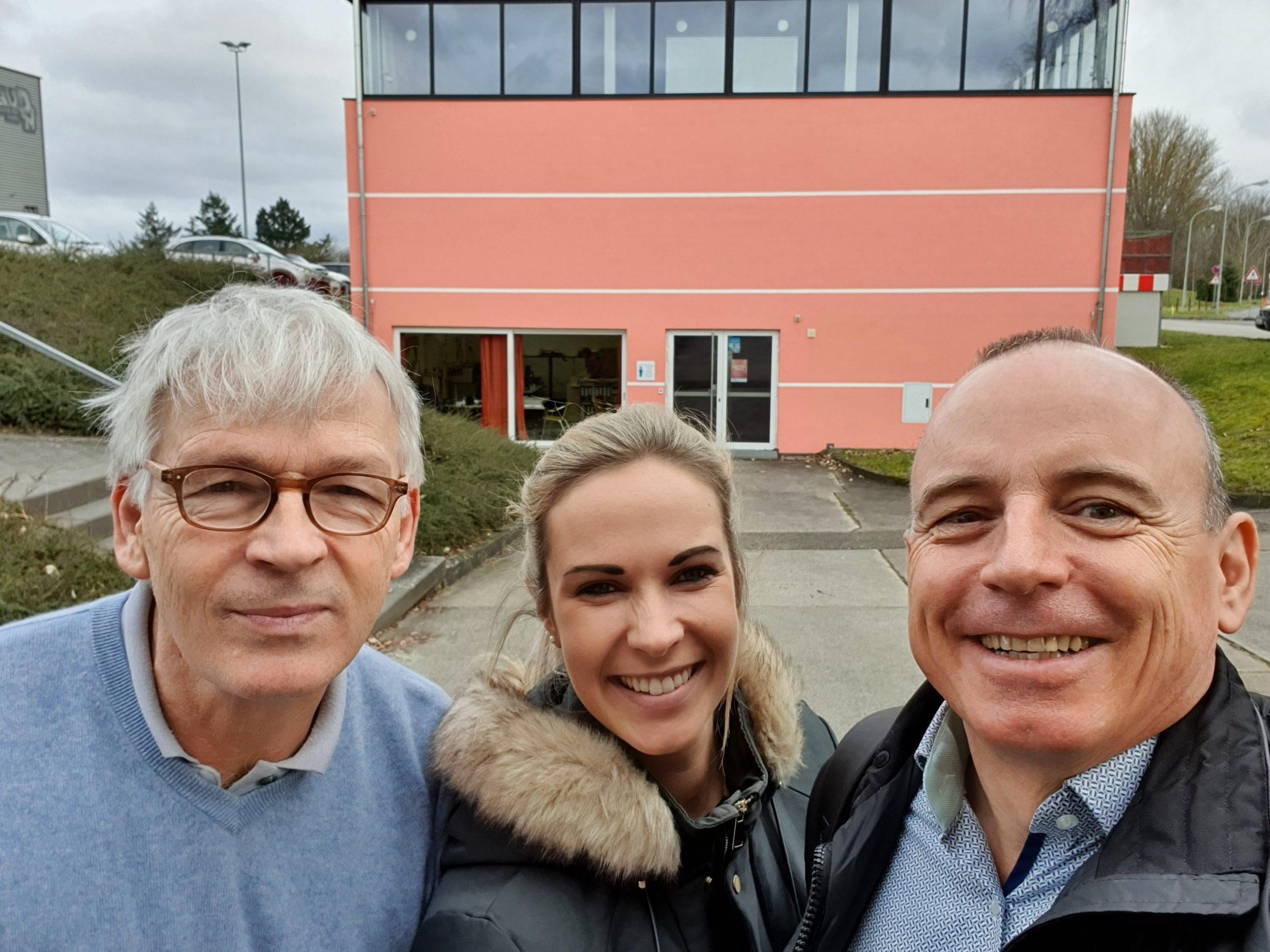 Detlev Lange, Alisa Schmidt, Winfried Möck